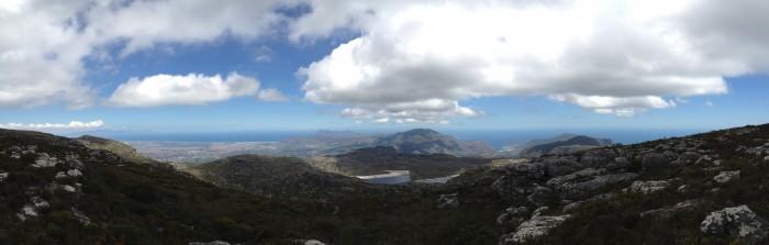 Столовая гора сверху